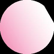 Semi-transparent pink2 circle